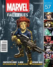 Marvel Fact Files #57 Eaglemoss Publications